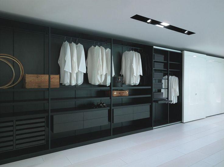 Modern Walk In Closet Design : Cool Modern Walk In Closet Design Ideas For Home Design Ideas