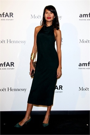 Goga Ashkenazi   ....AmfAR Milano 2012 - Vogue.it