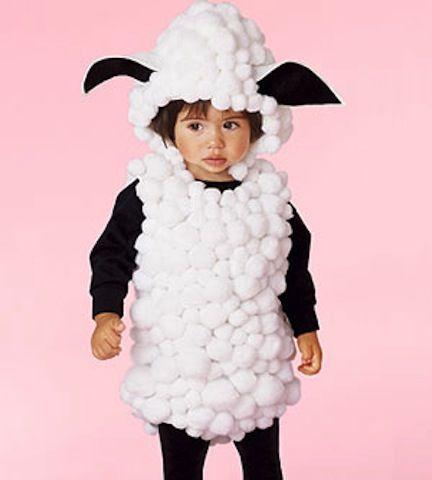 #déguisement mouton