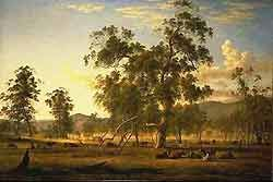 AUSTRALIAN PAINTERS An image of John Glover's painting 'Patterdale'.