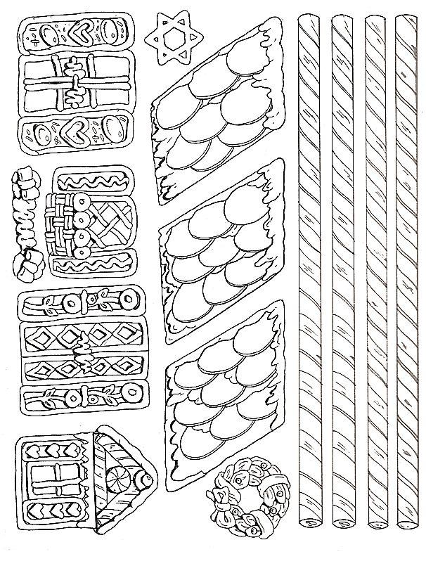 Fantástico Jan Brett Para Colorear Gingerbread Baby Modelo - Páginas ...