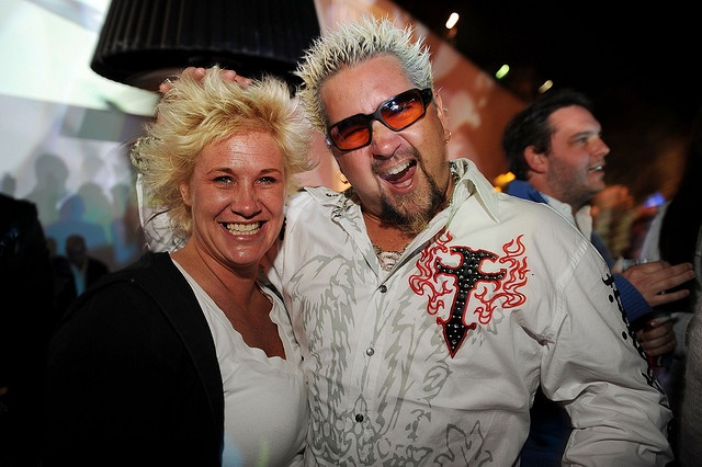 Anne Burrell Amp Guy Fieri Costume Idea For 2012 Blonde Wigs And Hair Gel Abound Costumes