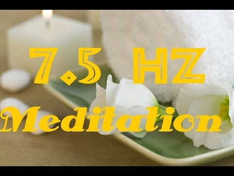7.5 Hz Meditation, Binaural Beats, Isochronic Tones