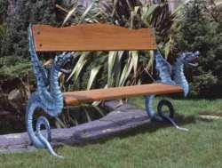Dragon Themed Item-Bench