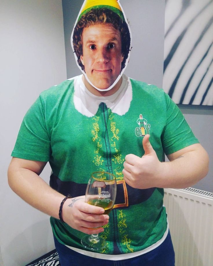 Xmas always a bit special when Elf pops in for a beer....
