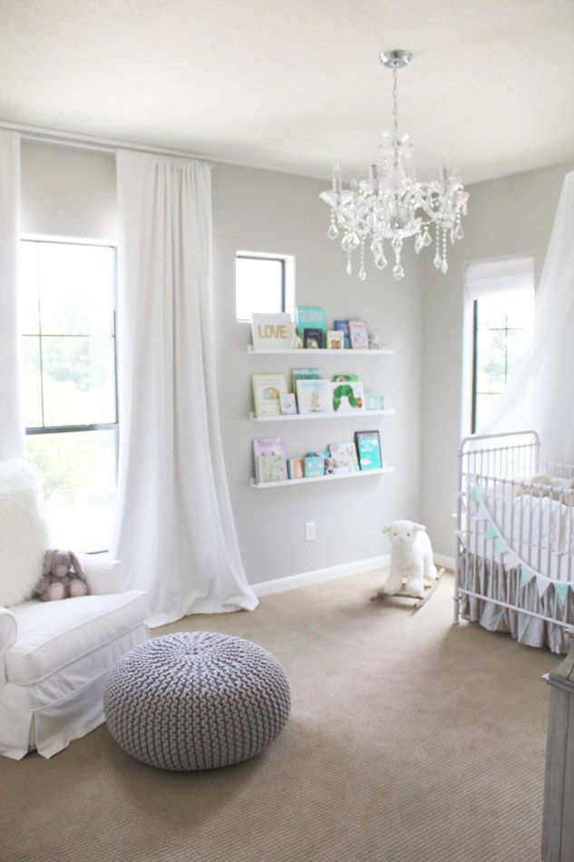 Wall color.   Veronika's Blushing: Harper's Nursery Reveal!