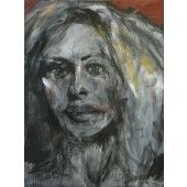 """Molly 2"" William Stoehr - Artist Original Acrylic Painting on Canvas 48"" x 36""  $4,000.00 - See more at: http://gallerystthomas.com/art-medium/acrylic-paintings/william-stoehr-molly-2.html#sthash.Cm2ldzYi.dpuf"