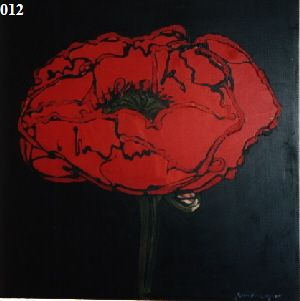 a single Poppy - by Rein Fulleylove