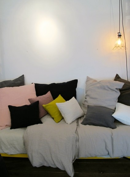 Pillows and duvet - Merci - Paris - France
