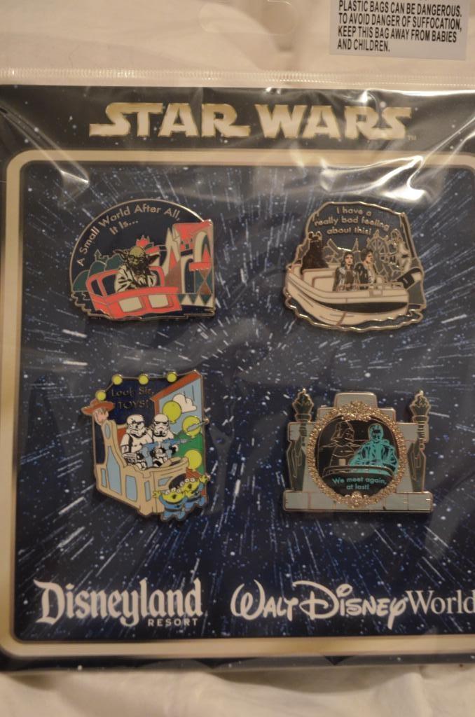 Star Wars Disney collectible pins www.TandemEstateSales.com http://www.pinterest.com/tandemestate/boards/