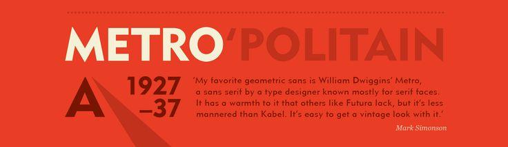 Las 25 familias tipográficas favoritas de diseñadores y tipógrafos | Nice Fucking Graphics!