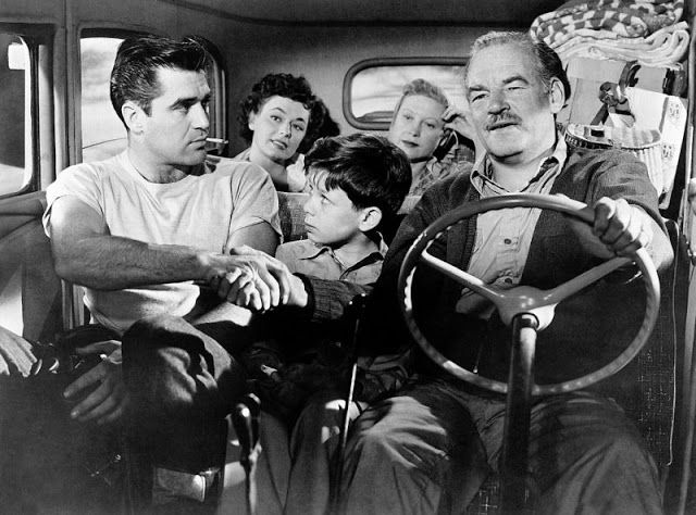 Ray Teal in TOMORROW IS ANOTHER DAY with Steve Cochran, Ruth Roman, Lurene Tuttle, etc.