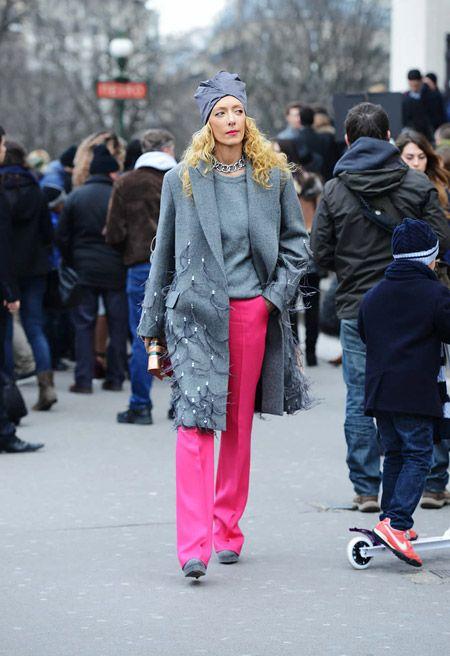 Томми Тон Побеги Street Style на Весна 2014 Couture шоу