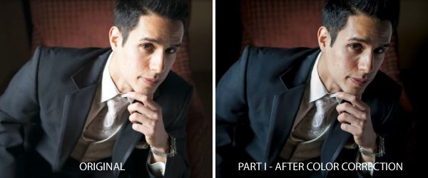 Advanced Portrait Retouch on a Male Subject in Lightroom 4 – Part 1 of 3
