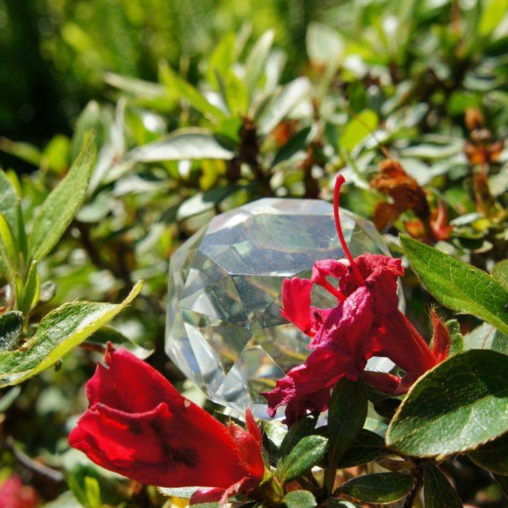 Swarovski And Lilac, Quality Crystal For A Master Bath Or