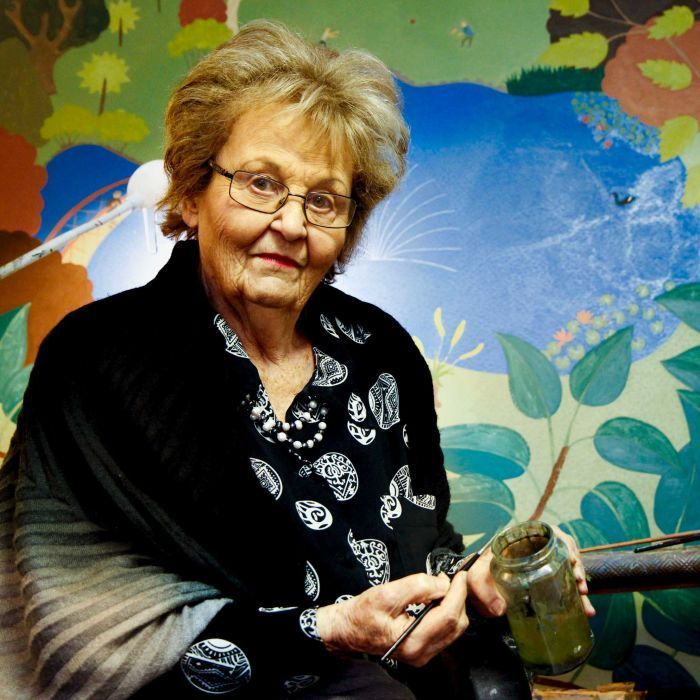 At 91, award-winning artist Anne Marie Graham is one of Australia's oldest active painters. Yet a trip to her studio suggests she's not interested in slowing down.