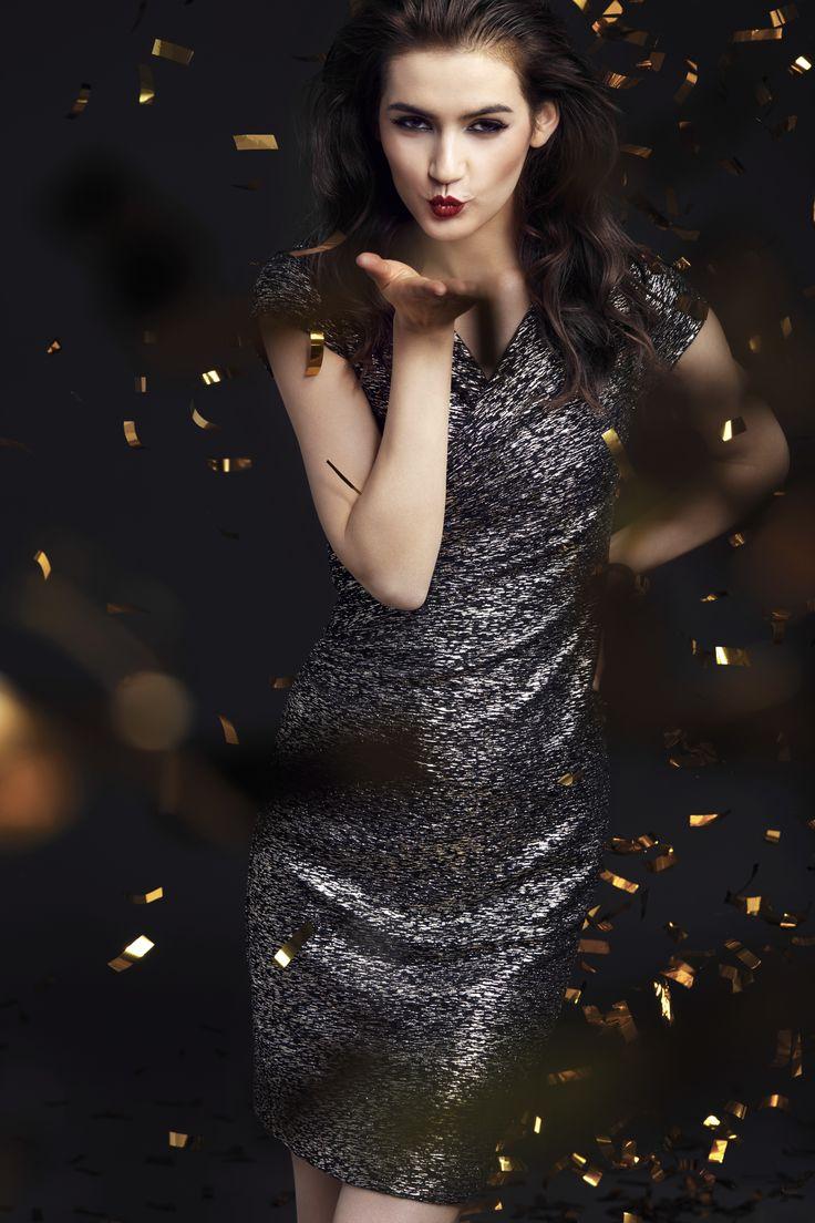 Taranko Christmas Evening shiny party dress
