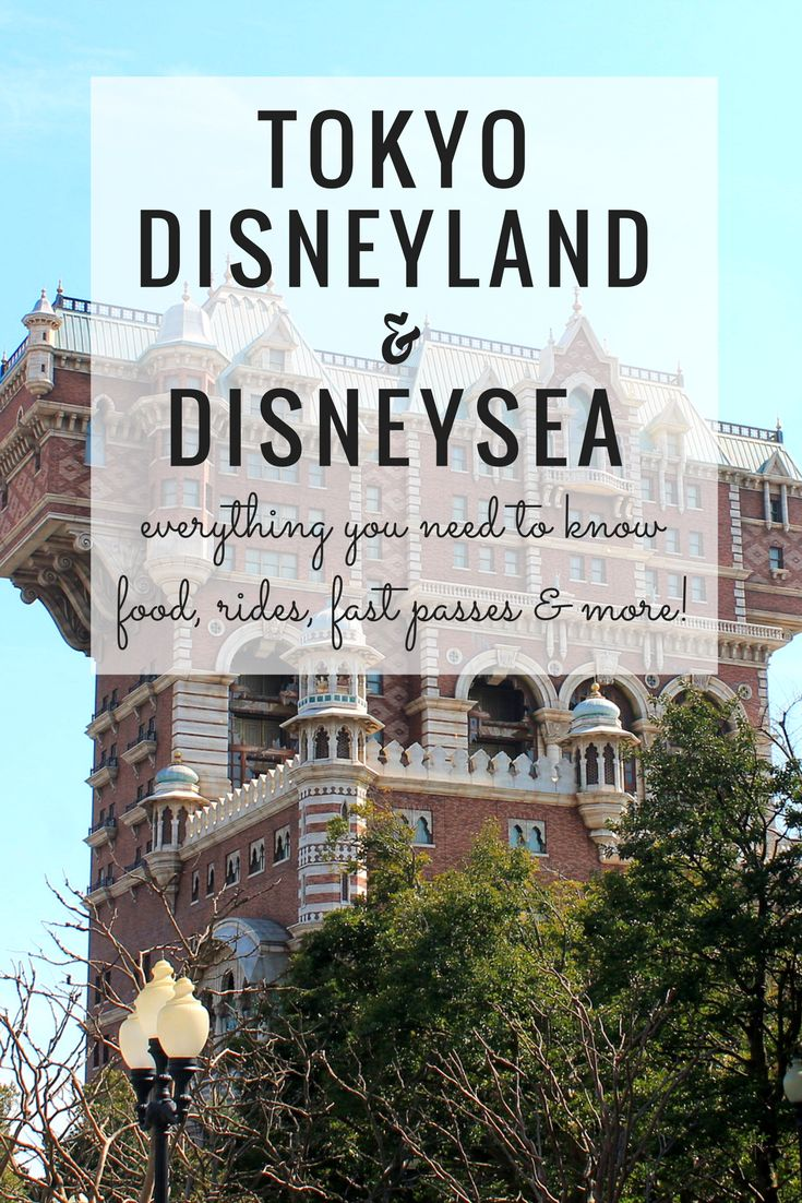 Tokyo Disneyland and DisneySea: What To Expect + Tips to Help You Plan Your Day!