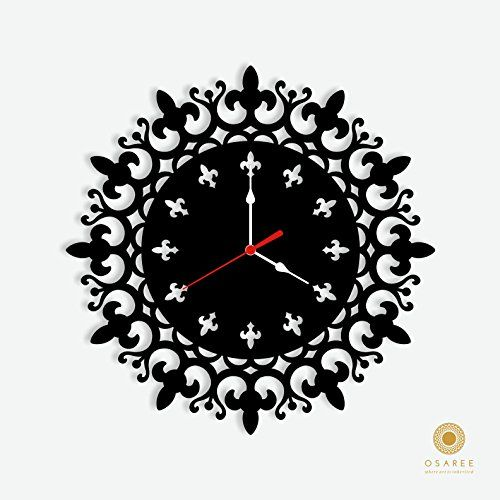 Mandala Design Modern Wall Clock Osaree http://www.amazon.com/dp/B015HDZDQ0/ref=cm_sw_r_pi_dp_1dn.vb10HD43P