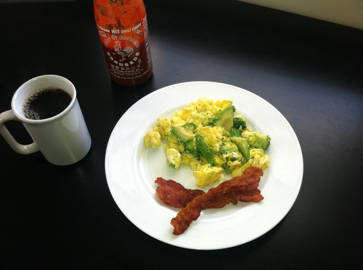 Adult Green Eggs and Ham! Broccoli and pepper jack cheese omelet ...