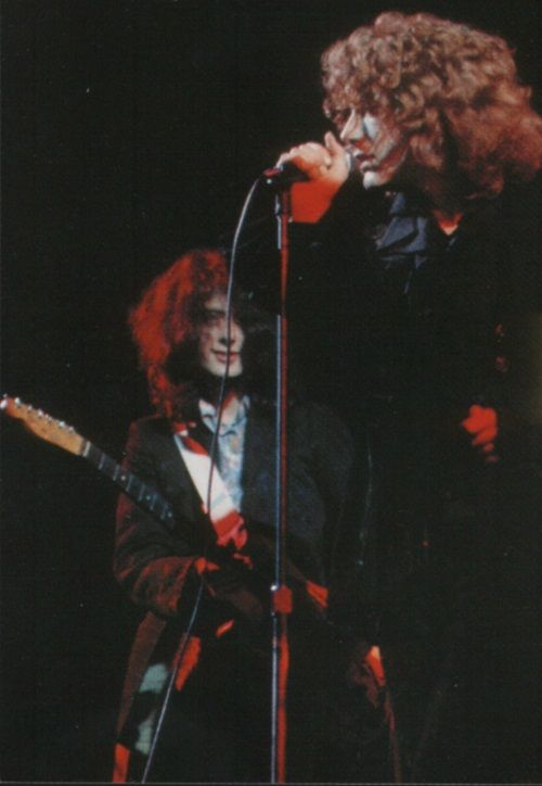 """Jimmy Page & Robert Plant """"Captivated ... Jimmy waits to chime in with Robert!"""" •Led Zeppelin"""