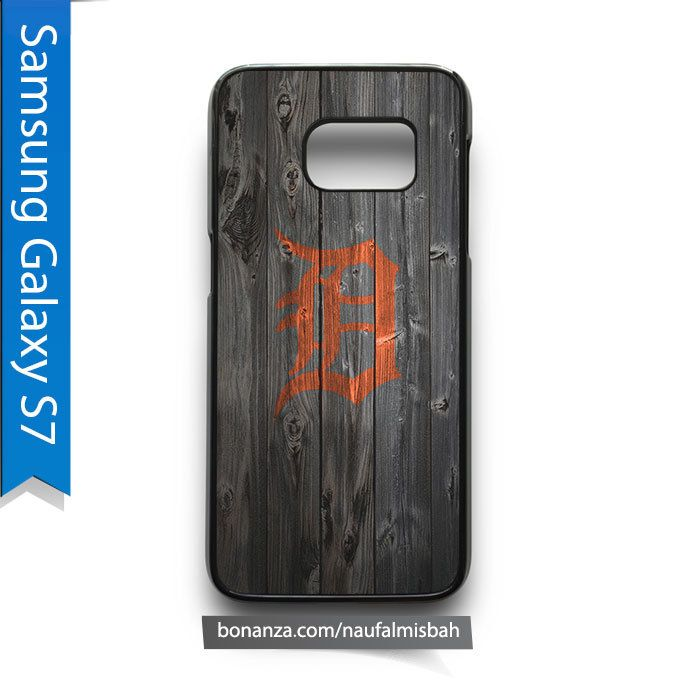 Detroit Tigers on Wood Samsung Galaxy S7 Case Cover - Cases, Covers & Skins