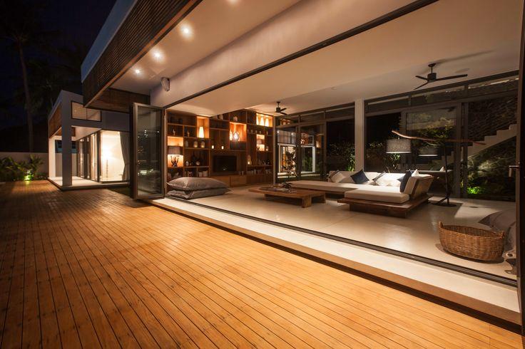 Минималистская тропическая архитектура в Таиланде — HQROOM