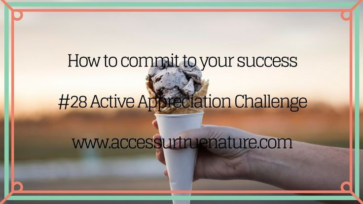 What commitment has to do with your results