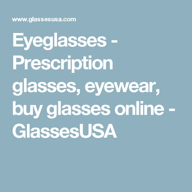 Eyeglasses - Prescription glasses, eyewear, buy glasses online - GlassesUSA