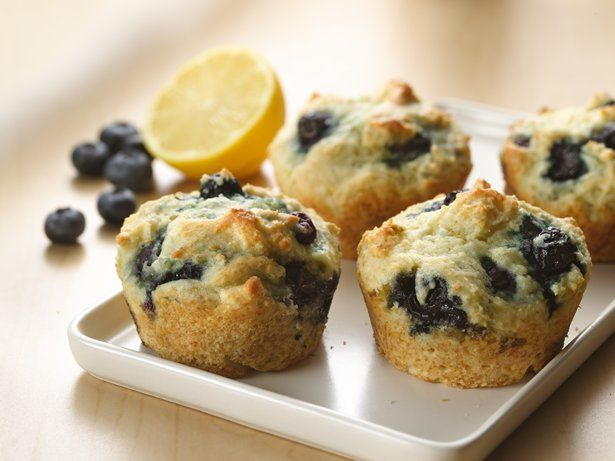 Check out Greek Yogurt Blueberry Muffins. It's so easy to ...