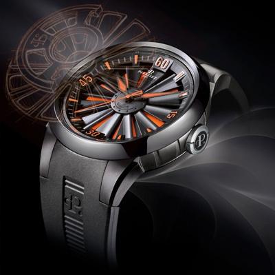 Perrelet Watch Turbine PVD Black --- The Best
