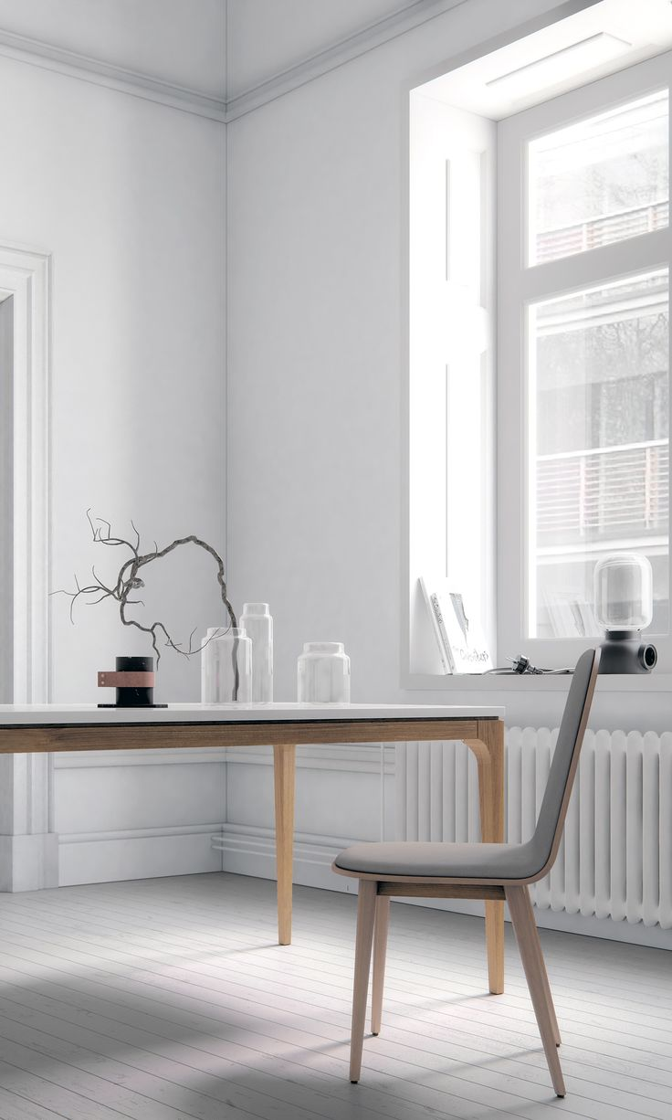 Moody modern nordic dining room from Rove Concepts Kure