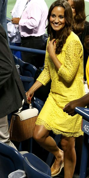 Pippa Middleton at the US Open Tennis Championships, September 2012 / Grazia Fashion