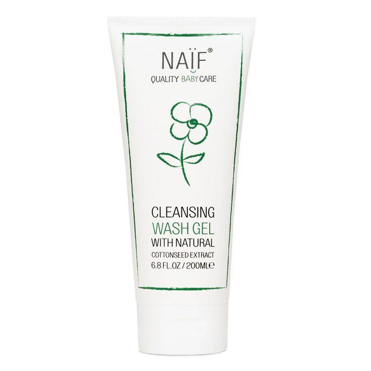 Gel nettoyant pour bébé - NAIF - Cosmétiques Bébé