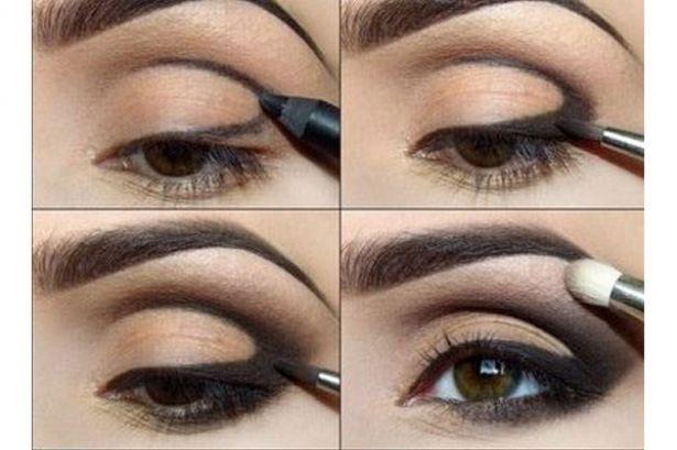 Maquillaje de noche sutil (1 de 2)