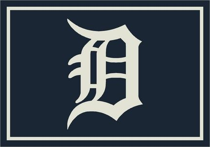 Detroit Tigers 2'8 x 3'10 Team Spirit Area Rug: Get in the Game with this MLB Detroit Tigers Team Spirit… #Sport #Football #Rugby #IceHockey
