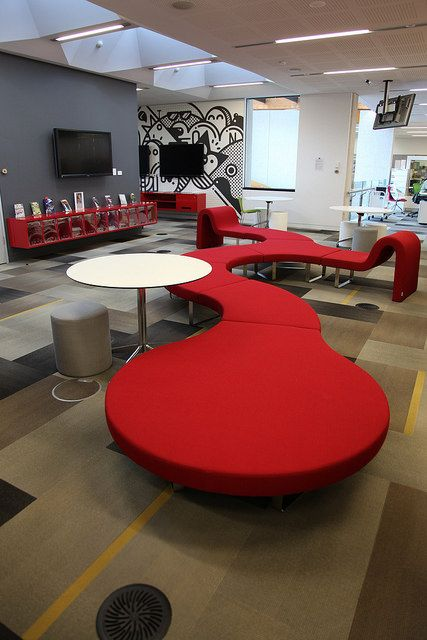 Melton Library & Learning Hub - opened June 2013 - youth area - Segis furniture