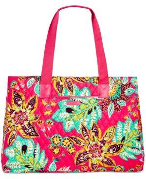 Vera Bradley Triple Compartment Signature Travel Bag -