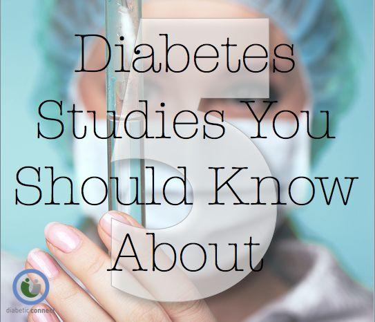 5 Diabetes Studies You Should Know About