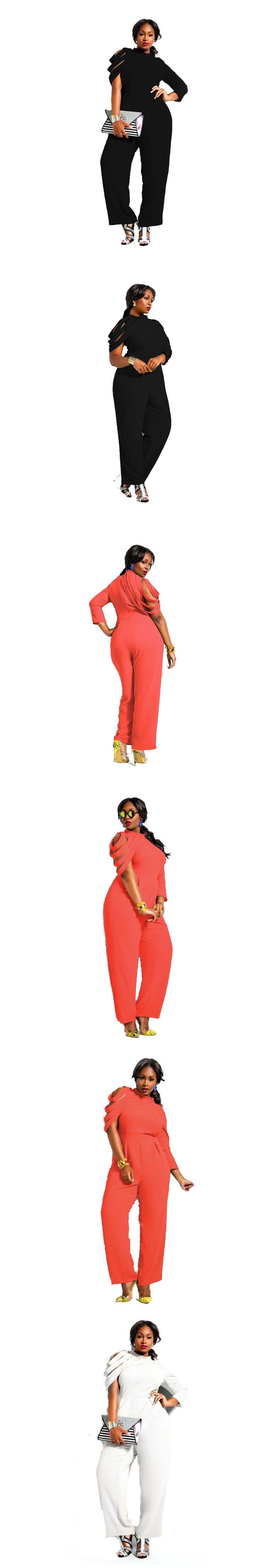 Large Size  4XL Summer Jumpsuits 2017 One Piece Elegant Long Trousers  Jumpsuits For Women Plus Size Chiffon Female Bodysuit