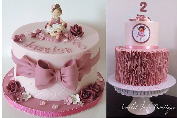 ballerina-cakes-by-Shereens-Cakes-and-Bakes-left-and-by-Scarlet-Jade-Boutique-Cakes-right.jpg (571×383)