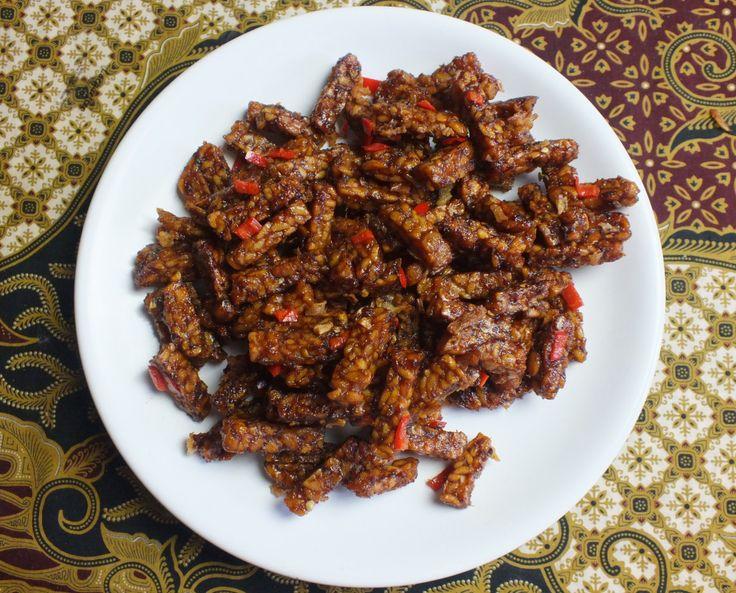 sambal goreng tempeh kering