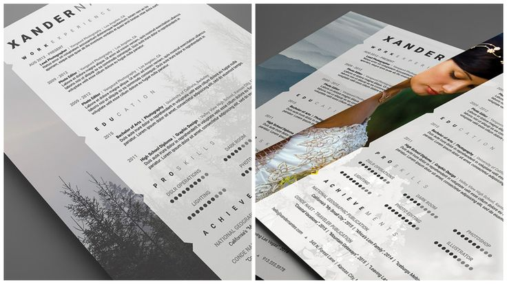54 best design images on Pinterest Resume design, Resume examples