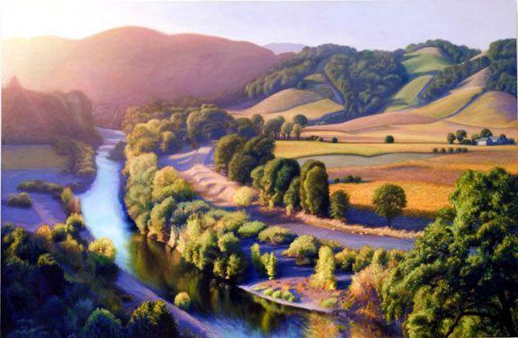 painting vineyard | Russian River Vineyard