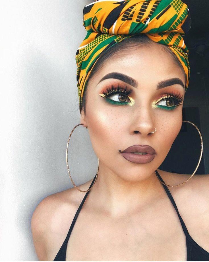 #beauty #headwrap #Makeup