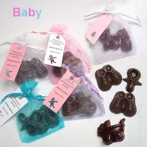 Recuerdos para Baby Shower o Bautizo