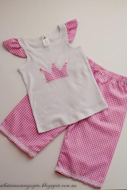 Super-Quick Pajama Tutorial