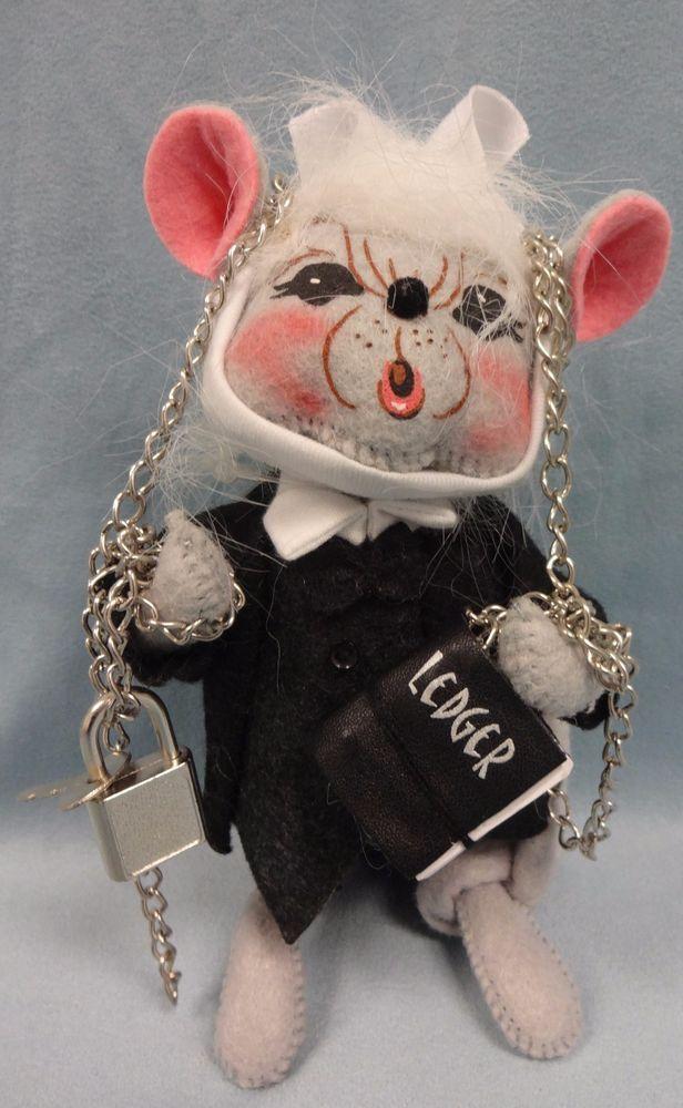 "Annalee 6"" Jacob Marley Dickens A Christmas Carol Christmas Doll Decoration #Annalee # ..."