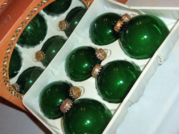 Vintage Christmas Ornaments 6 KREBS Crown Designer by Avaricia