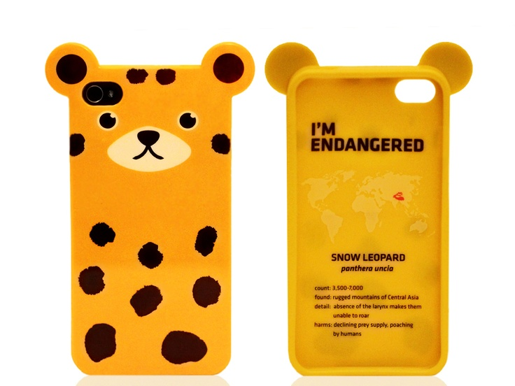 Case for a Cause: Animal iPhone Cases by Anicase (4/4S) from Monet Mazur on OpenSky  //  good gift. definitely cute and kind of harajuku. it has a story on the inside of the case about the endangered animal it represents.: Gift, Iphone Cases I, Iphone Cases Repin, Animal Phone Cases, Anicase 4 4S, Iphone Cases Cute, 4 4S Cases, Iphone Iphone, Animal Iphone